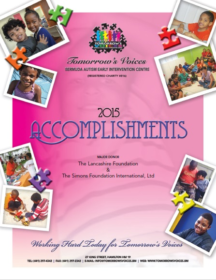 2015 Accomplishments Cover