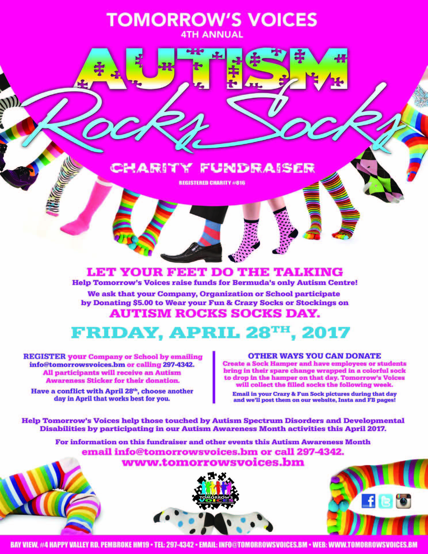 Autism Rocks Socks Flyer 17