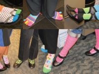 PWC Celebrates Autism Rocks Socks - April 2014