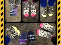 Validus Re Celebrates Autism Rocks Socks - April 2014