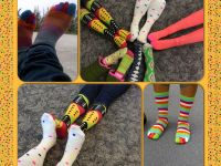 TBI Celebrates Autism Rocks Socks - April 2014