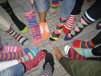 Amlin Celebrates Autism Rocks Socks - April 2014