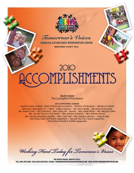 2010 Accomplishments Cover