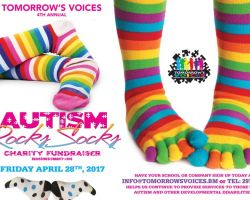Autism Rocks Socks April 2017