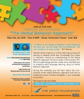 February Workshop - The Verbal Behavior Approach